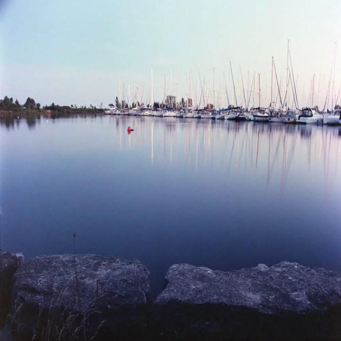 Kodak Professional Portra 800 Frame 2 - Metered value x2 - 16s @ f/11