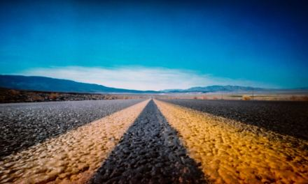 Death Valley Approach #03 – Shot on Kodak EKTACHROME 100GP (120)