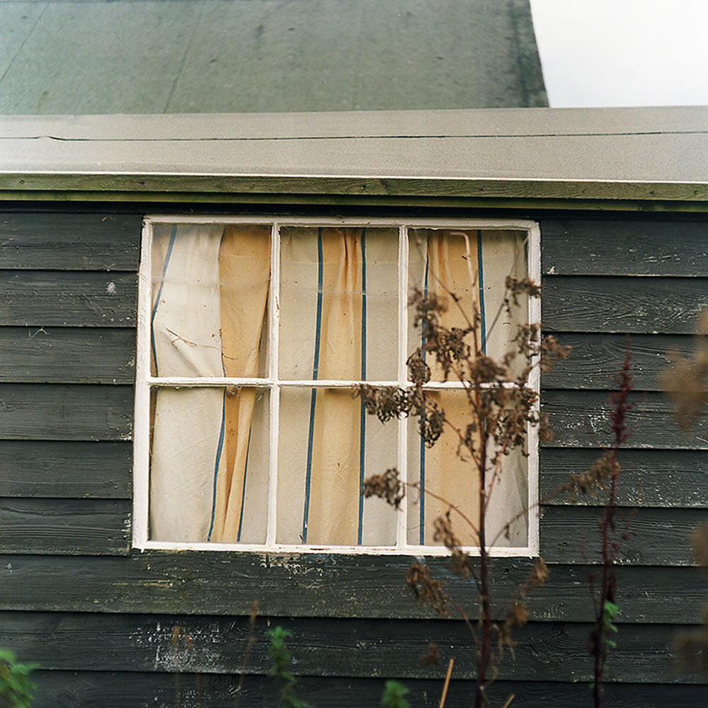 Lomography Color Negative 100 - Mamiya C220 - Window on Lindisfarne
