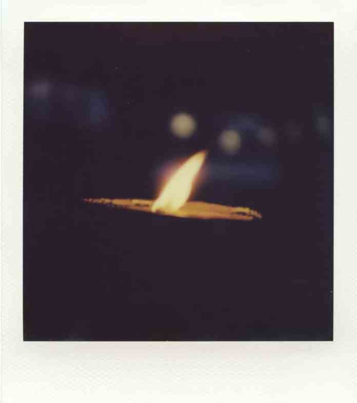 """""""Untitled"""", Impossible 600 film in Polaroid SX70 (with exposure filter and compensation)."""