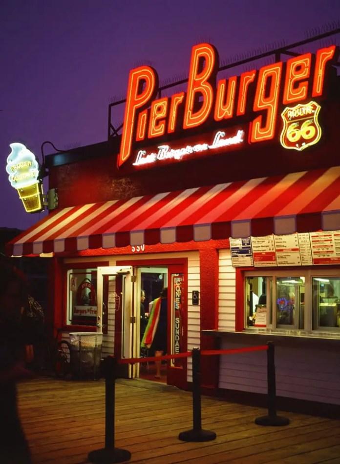 Last Burger on Land on KODAK EKTACHROME 100VS