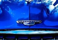 Light on Blue on Chrome - West Chicago IL, Leica M6 TTL, Summicron 35mm, Kodak Ektachrome 200