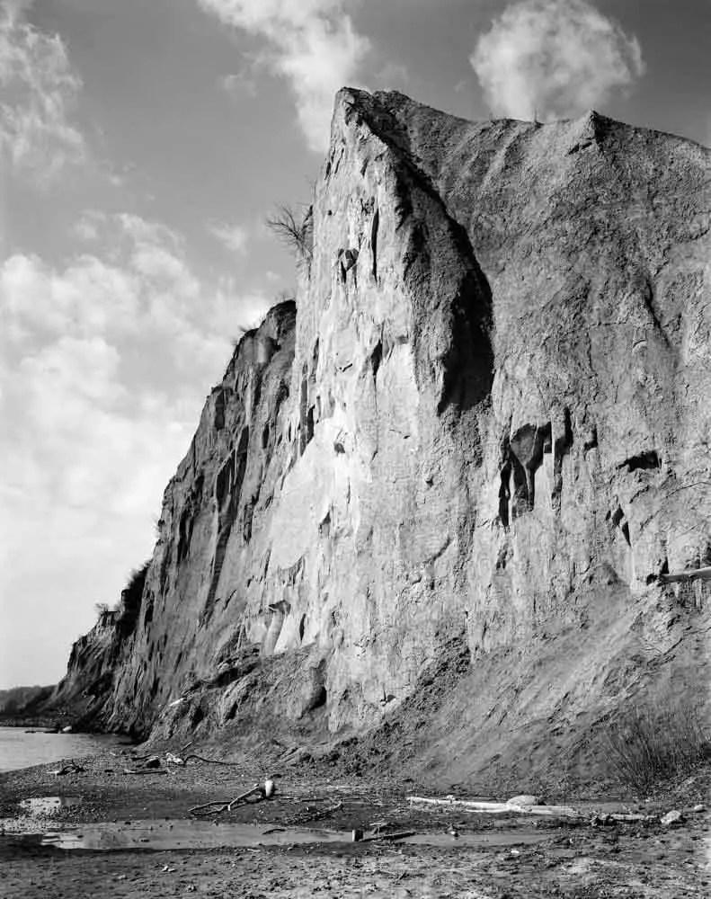Scarborough Bluffs Linhof Technika V Kodak T-Max 100