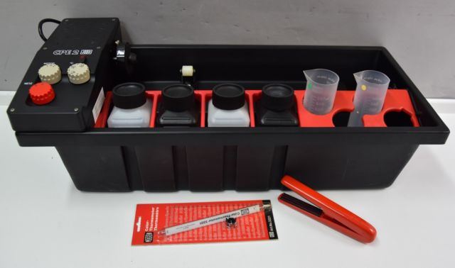 Building a semi-automatic film processor