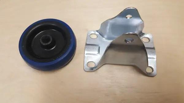 Building a semi-automatic film processor - caster wheels