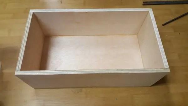 Building a semi-automatic film processor - the heated water tank