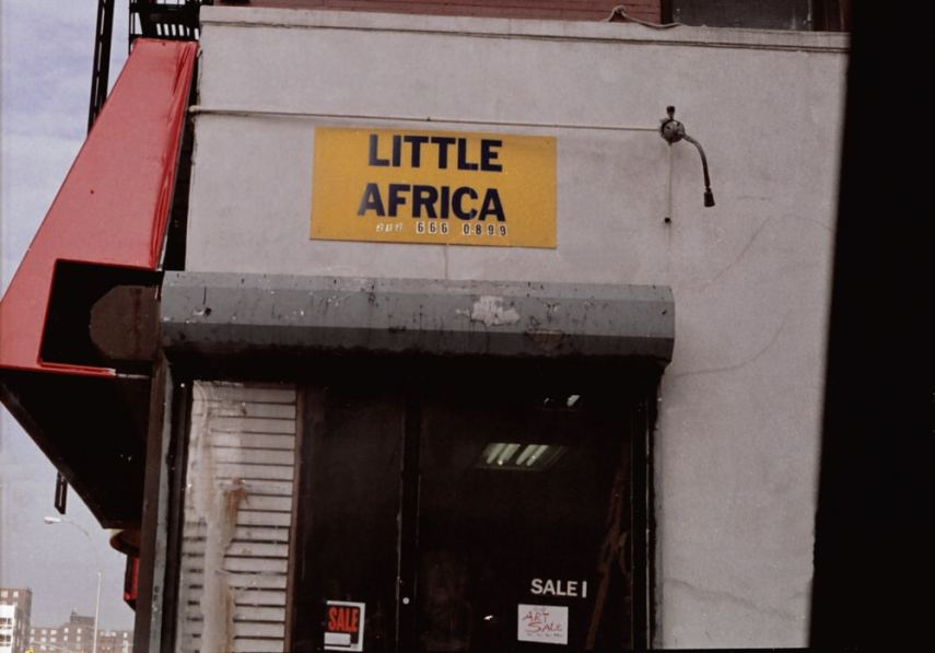 Sub-continent - Photographed with my Minolta Hi-Matic, & on Kodak Gold, small-format, 135 film. Harlem, New York.