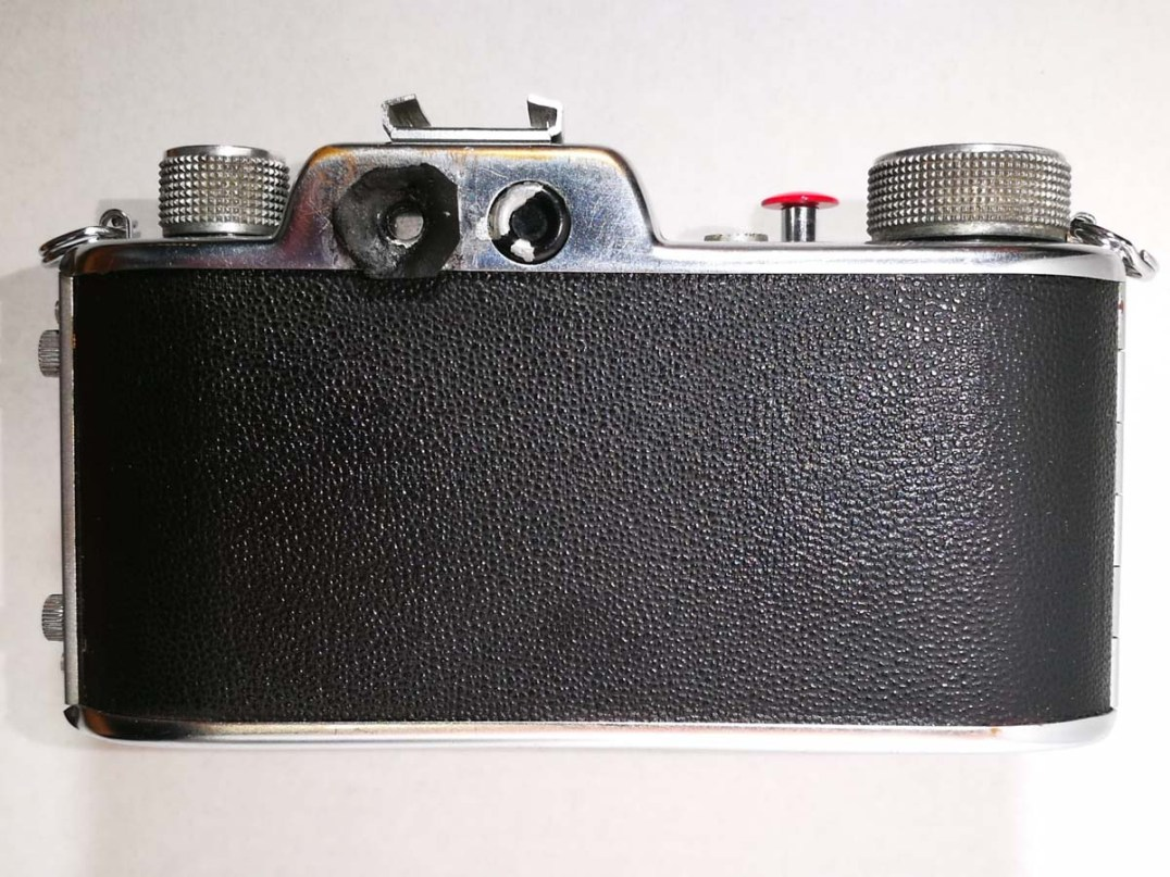 Apparate & Kamerabau Akarette II - Back