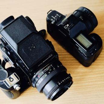 Bronica ETRSi - Canon EOS