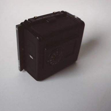 Bronica SQ-Ai - Film back (rear)