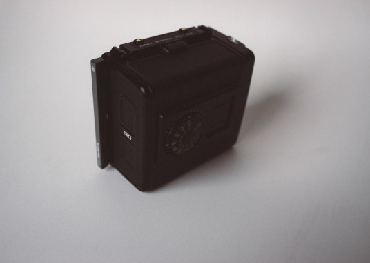 Bronica SQ-Ai - Film back (rear)