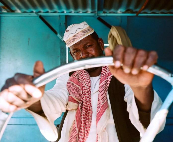 The Captain Sudan - Mamiya 7II, Kodak Portra 400