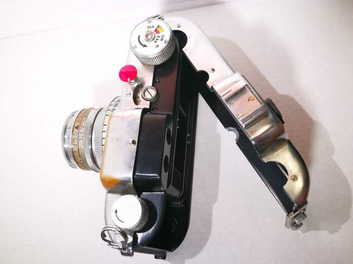 Voigtlander Vito B - Top (back open)