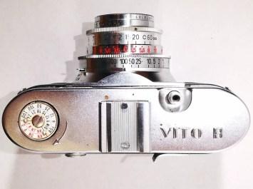 Voigtlander Vito B - Top