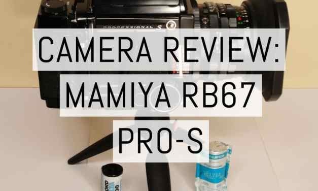 Camera review: Mamiya RB67 Pro-S – by Scott McClarin