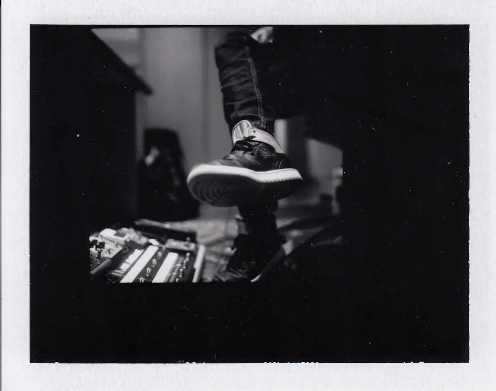 KWS Foot - Hasselblad 500cm, Zeiss C Planar 80mm f/2.8, Polaroid Back, Fuji FP-3000b