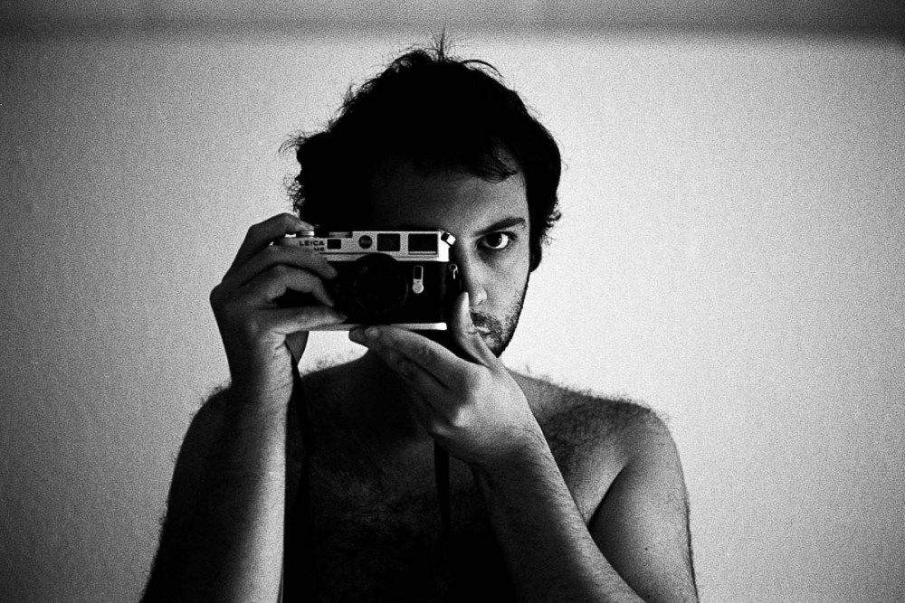 SELF PORTRAIT - LEICA M6, ILFORD HP5 PLUS, STUTTGART