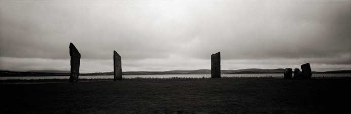 Kodak Tri-X 400 - Fuji G617 - Stones of Stenness Orkney, UK