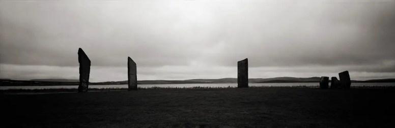 Kodak Tri-X 400 - Fuji G617 - Stones of Stenness Orkney, UK