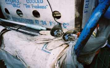 Cooled for freshness - Shot on Lucky Super 200 at EI 200. Color negative film in 35mm format.
