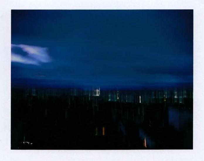 Taken with a Polaroid Land camera 330 on Fuji peel-apart film, FP-100C Silk.