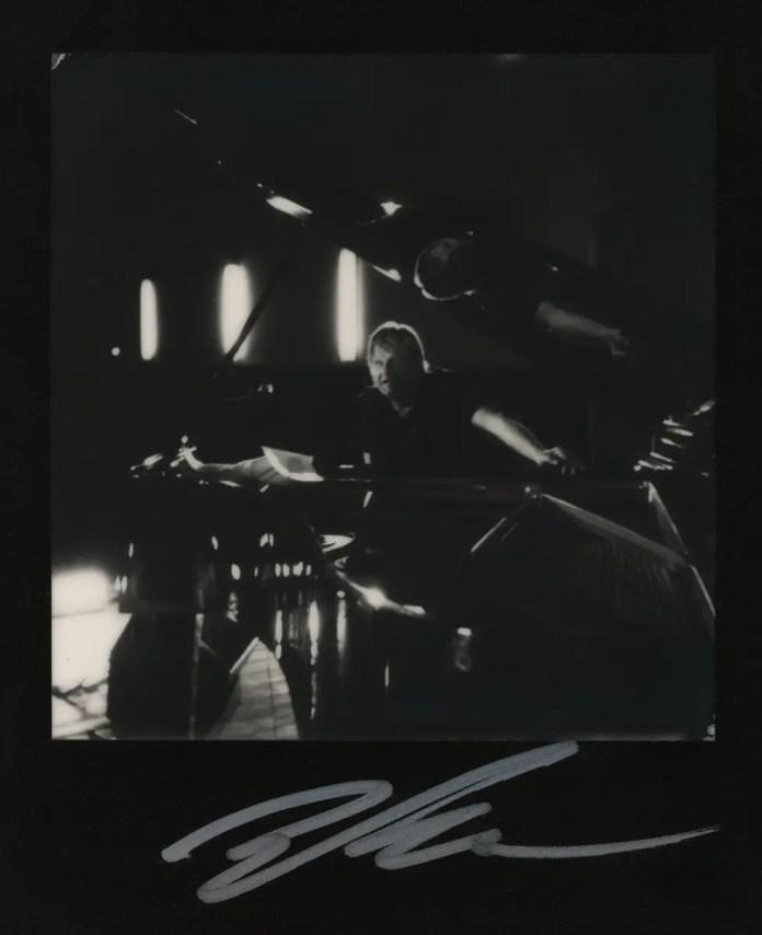 Polaroid SX-70 Land camera, model Alpha 1, The Impossible Project B&W film (Iiro Rantala at Timișoara Jazz Festival 2017)