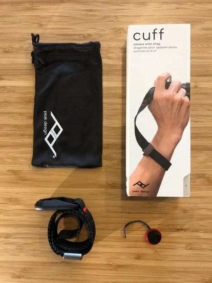 Peak Design - Cuff - Box contents