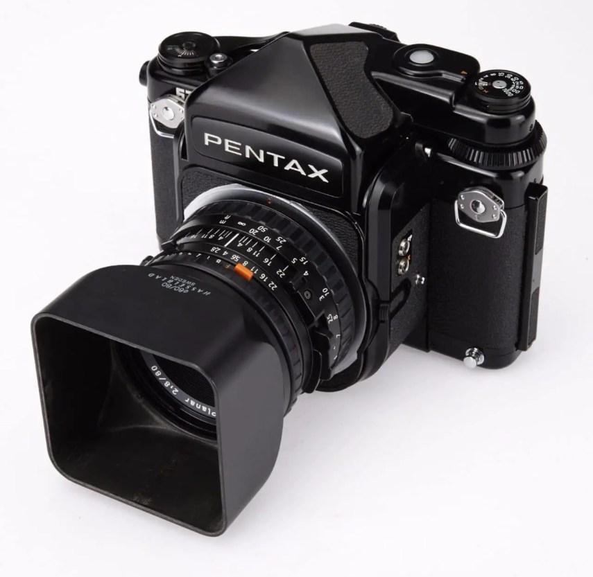 Pentax 67 modified to Hasselblad V Mount - Litzst on eBay