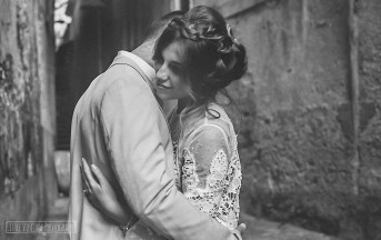 Castellabate, Italy, Engagement Shoot 2017. Shot on Olympus OM30, ILFORD Pan F+ 50