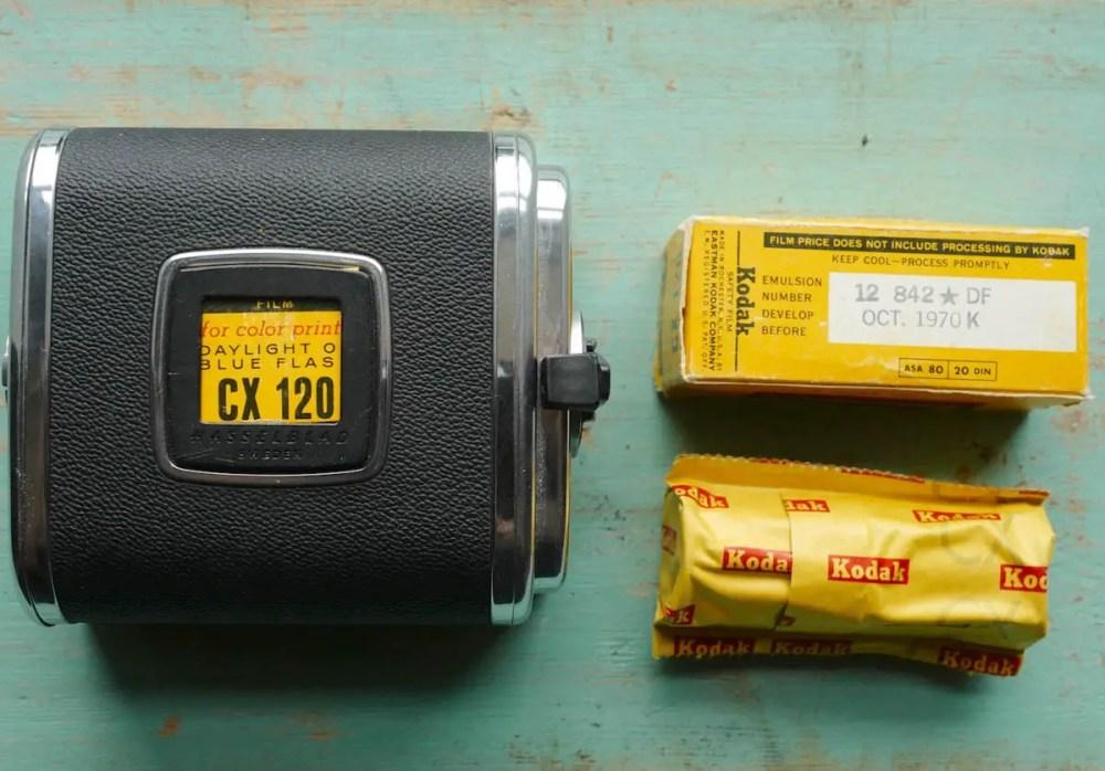 Medium format first timer: Kodak 120 film and the Hasselblad