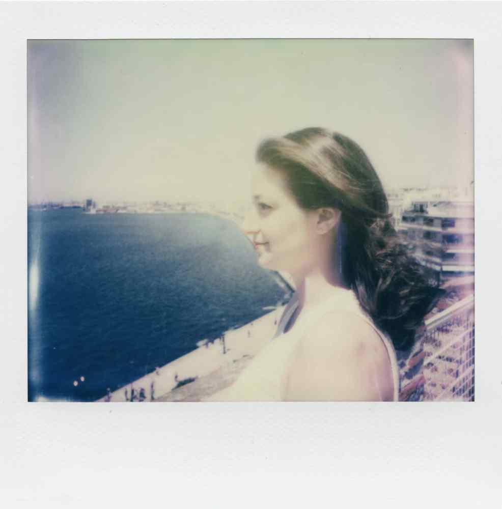 Self - Polaroid Spectra ProCam camera and Impossible Project film for Spectra.