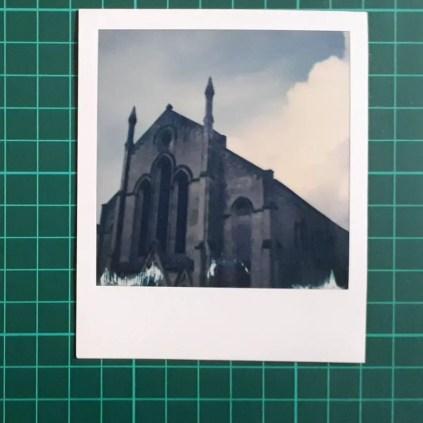 Test 3: Original Polaroid, pre-lift