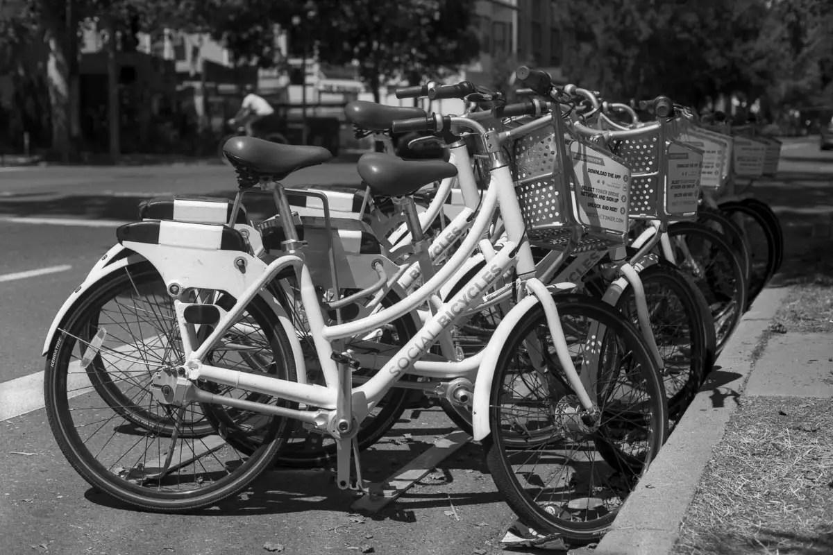 Kodak D-96 test 01 - Bikes, Sacto