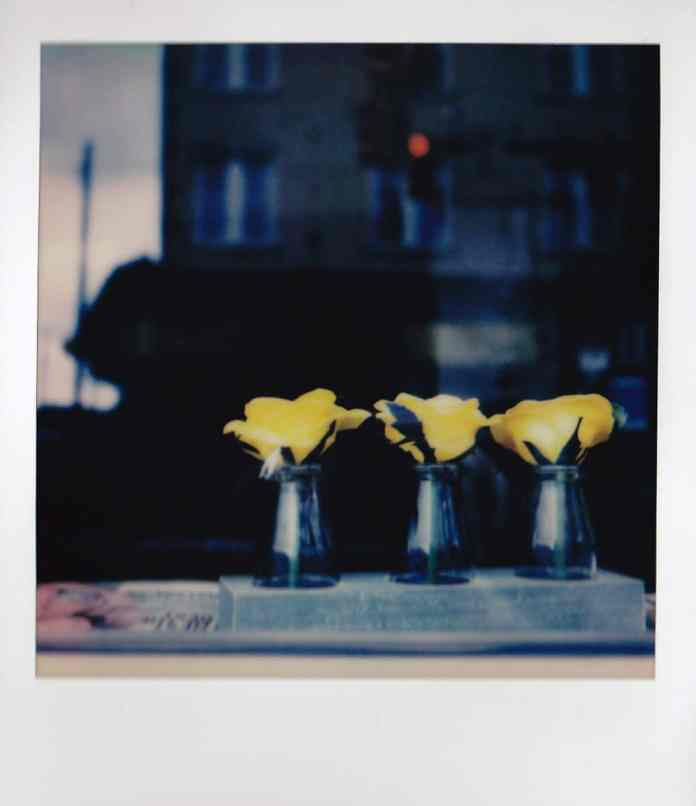 Beauty Shop - Polaroid SLR680, Impossible Project 600 film