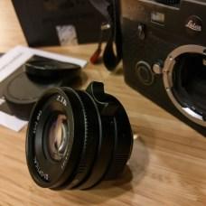 7artisans 35mm f2 - Focusing tab