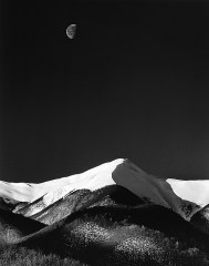 Antonio Biagiotti - Snow covered mountains and the moon ++