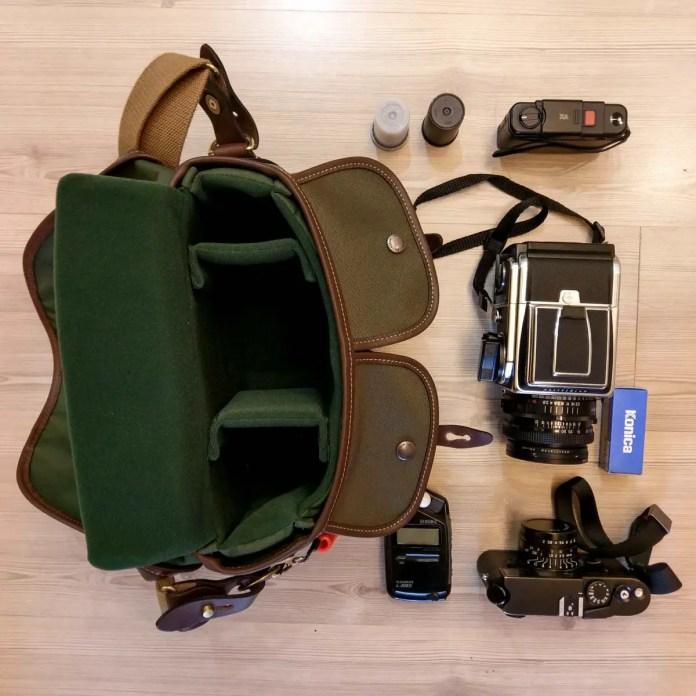 Billingham Hadley Small Pro - 35mm + medium format gear unloaded
