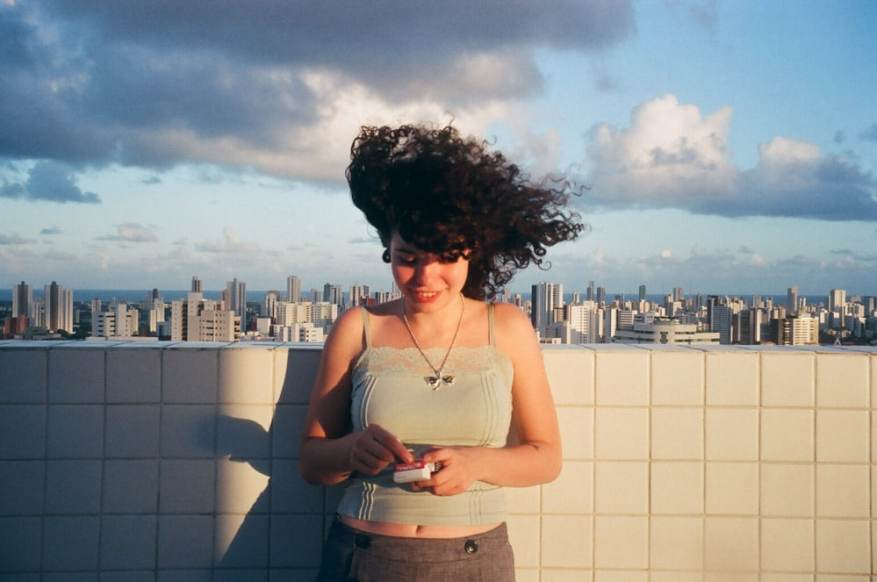 The entire city - shot on Fujicolor C200 with a Pentax Espio 160, on the top of a building in Recife, Brazil