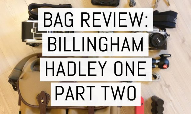 Bag review: The Billingham Hadley One part two – one year on (plus competition winner!)