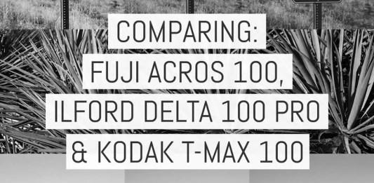 Cover - Comparing ACROS 100, Delta 100 Pro and T-MAX 400