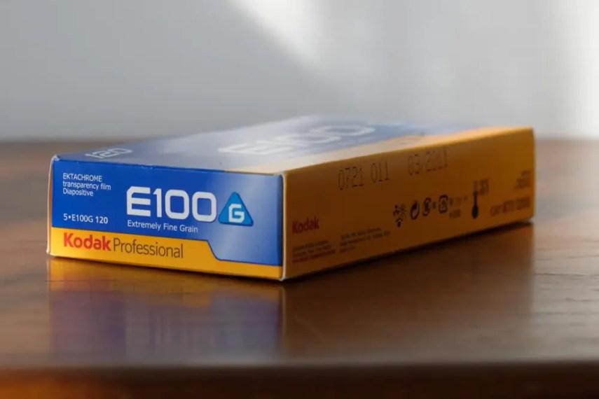 My expired box of Kodak EKTACHROME 100G