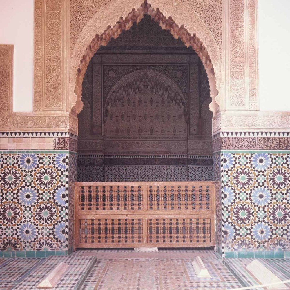 Kodak EKTACHROME E100G - Saadian Tombs - mindblowing attention to detail