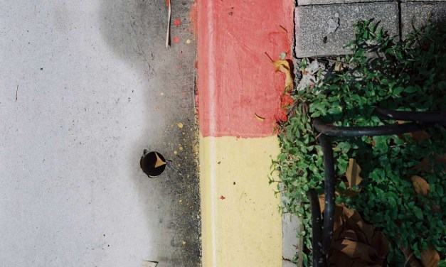 Red yellow green grey – Shot on Lomography Color Negative 100 at EI 100 (120 format)