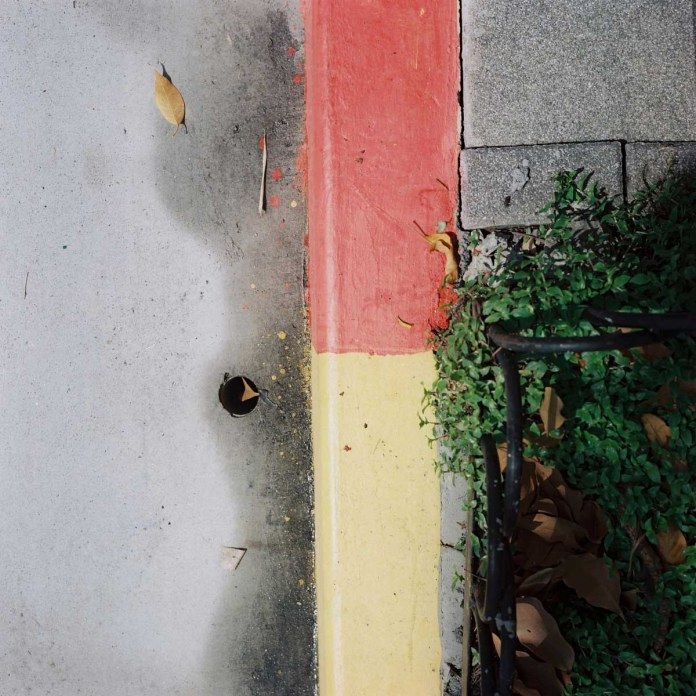 Red yellow green grey - Shot on Lomography Color Negative 100 at EI 100. Color negative film in 120 format shot as 6x6.