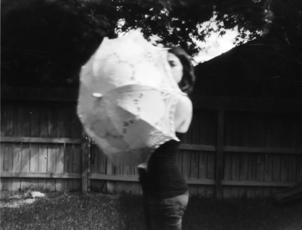 Self portrait - 4x5 pinhole - Arista film