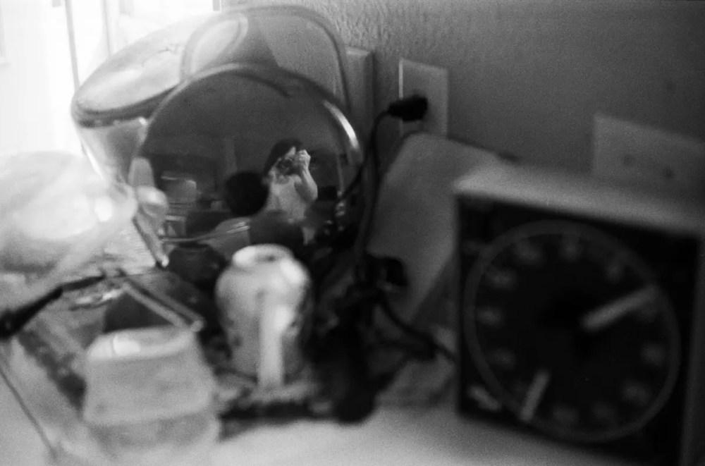 Self portrait - Nikon F - Kodak Tri-X 400