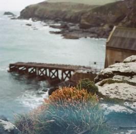 Abandoned slipway - Kodak porta 160, expired 2006