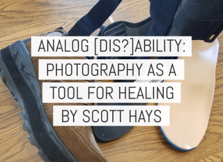 Cover - Analog Ability, Photography as a tool for healing - by Scott Hays