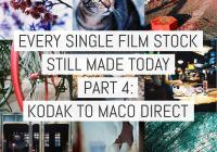Cover - Every Film Stock Still Made 4 - Kodak to MACO DIRECT