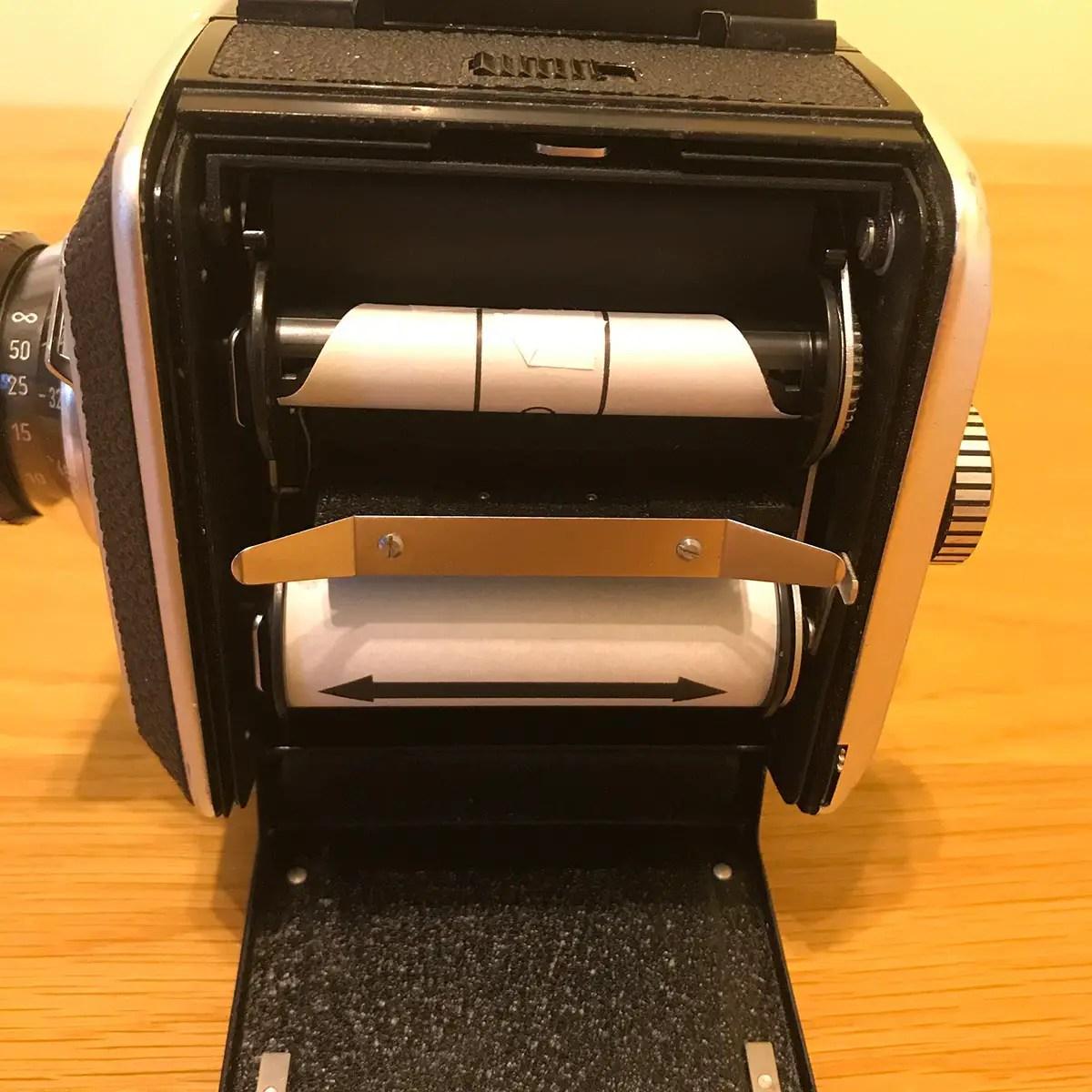 Rollei SL66 - Film Back (insert loaded)